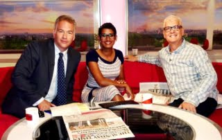 Record Producer Steve Levine appears on BBC Breakfast with Naga Munchetty and Roger Johnson | BBC Breakfast