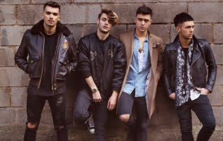Book Union J | Hire Union J Band | Union J Band for hire