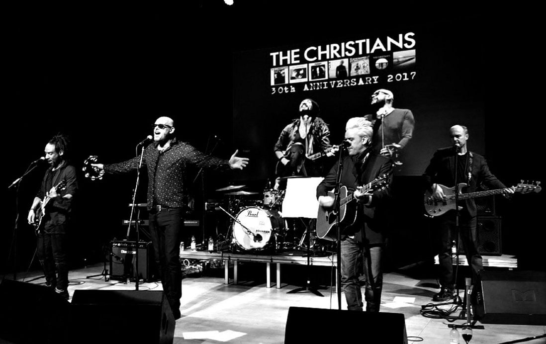 The Christians Band Agent Contact | Contact the band for live bookings at Atrium Talent