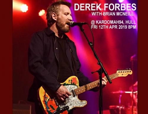 Derek Forbes in concert (w Brian McNeill) at Kardomah94, Hull