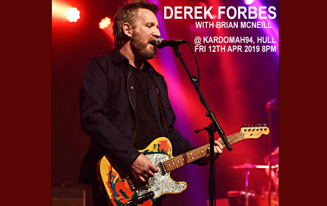 Derek Forbes Tour | Derek Forbes Agent | Derek Forbes Echoes Tour | Derek Forbes Big Minds European Tour | Derek Forbes Agent | Derek Forbes Big Minds | Natalie McCool | Sian Monaghan | Brian McNeill | Mark Brzezicki | Simple Minds | Big Country | Derek Forbes Agent | Echoes Band Tour | Derek Forbes Agent Atrium