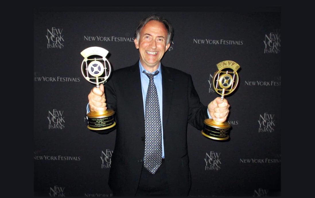 New York Festivals Radio Awards 2018 Bing Crosby Steve Levine BBC2 Show Lewis Borg-Cadona