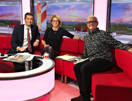 BBC Breakfast Featuring Steve Levine – Grammy Winning Producer