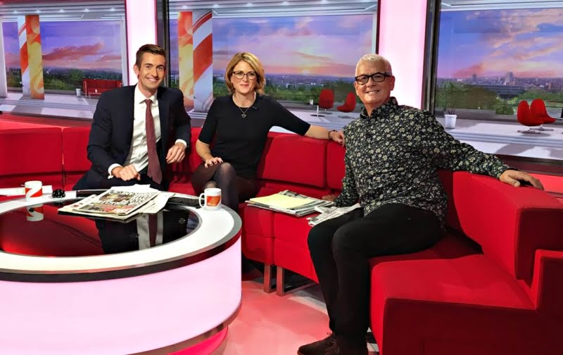BBC Breakfast Featuring Steve Levine | Steve Levine Producer Agent | Book Steve Levine Producer | Book Steve Levine Producer at Atrium Celebrity Talent