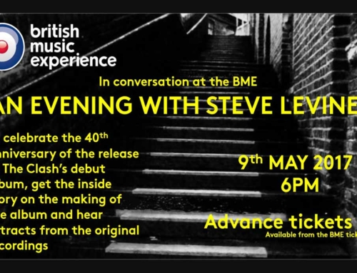 An Evening With Steve Levine | 40 Years of The Clash | British Music Experience Liverpool