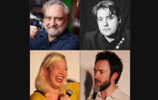 Tony Slattery at Mostly Comedy, Hitchin | Tony Slattery Agent | Tony Slattery comedian with Doggett and Ephgrave | Spring Day | Allan Lear | Who's Line is it Anyway
